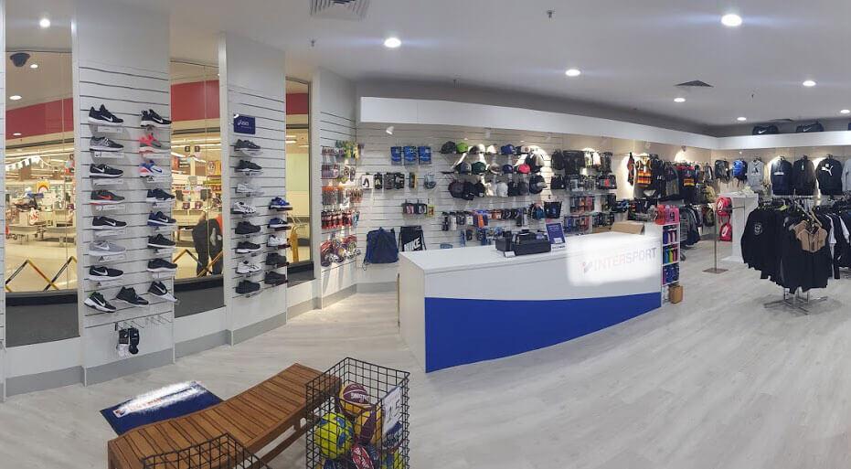 intersport shop fitout